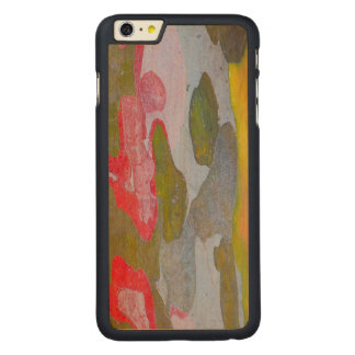 Cypress tree bark patterns, Italy Carved Maple iPhone 6 Plus Case
