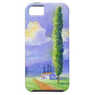 Cypress tree case for the iPhone 5