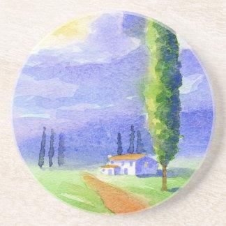 Cypress tree coaster