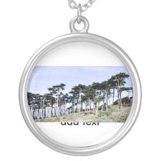 Cypress Trees at Sutro Park San Francisco Custom Jewelry