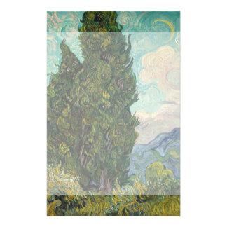 Cypresses by Vincent Van Gogh 14 Cm X 21.5 Cm Flyer