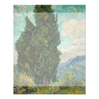 Cypresses by Vincent Van Gogh Full Color Flyer