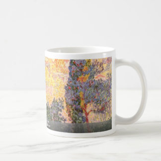 Cypresses In Cagnes By Cross Henri Edmond Coffee Mugs
