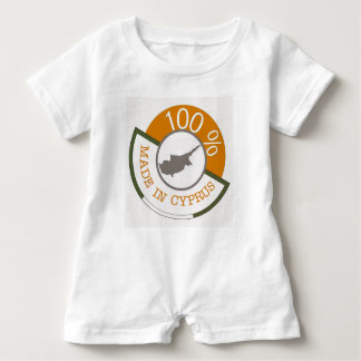 CYPRUS 100% CREST BABY BODYSUIT