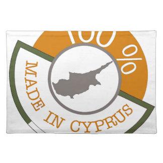 CYPRUS 100% CREST PLACEMAT