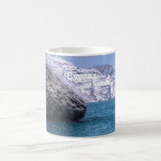 Cyprus Coast Basic White Mug