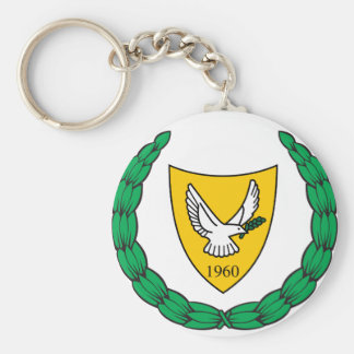 Cyprus Coat of arms CY Key Ring