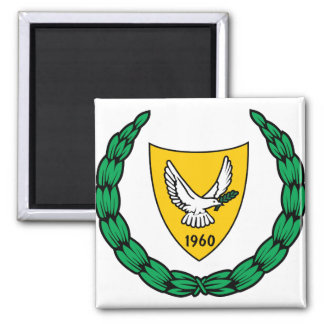 Cyprus Coat of Arms detail Magnet