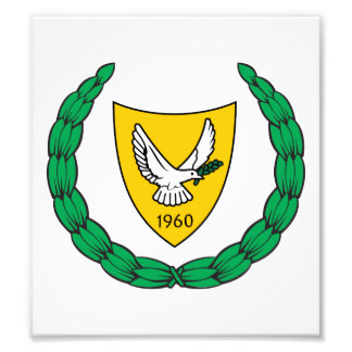 Cyprus Coat Of Arms Photo Print