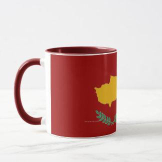 Cyprus cypriot flag mug
