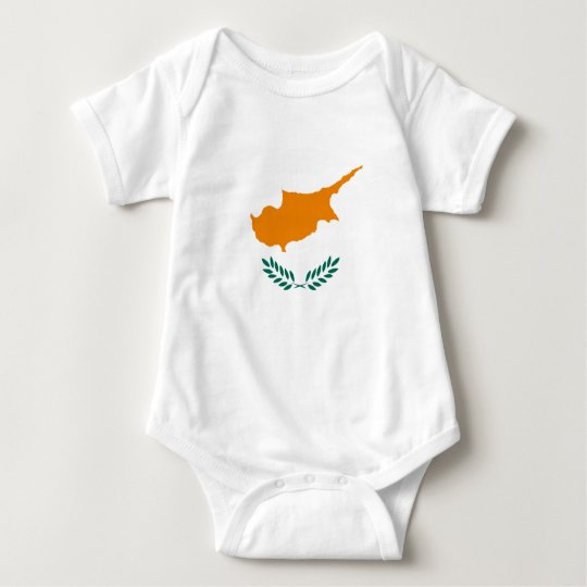 Cyprus – Cypriot National Flag Baby Bodysuit
