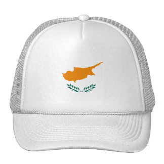 Cyprus Flag CY Cap