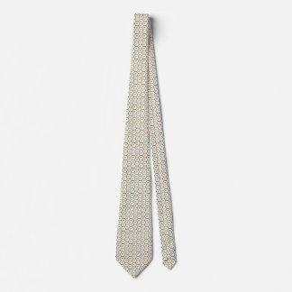 Cyprus Flag Honeycomb Tie