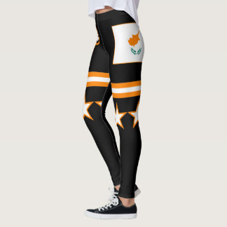 Cyprus Flag Leggings