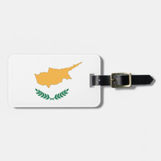 Cyprus Flag Luggage Tag