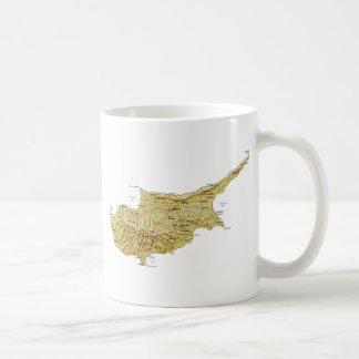 Cyprus Flag ~ Map Mug