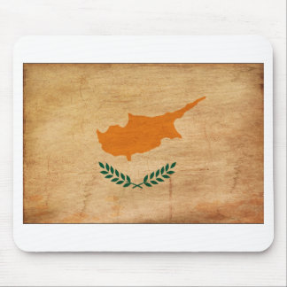 Cyprus Flag Mouse Pad