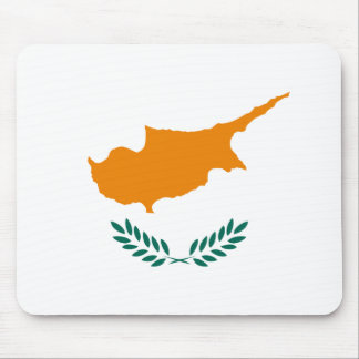 Cyprus Flag Mousepad