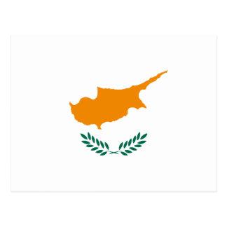 Cyprus Flag Postcard