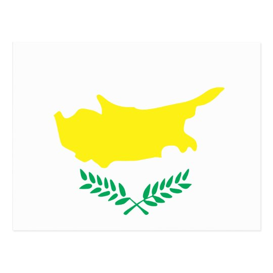 Cyprus Flag T-shirts and Gifts Postcard