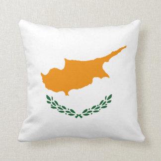 Cyprus Flag x Flag Pillow