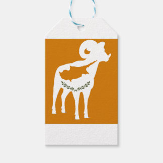 CYPRUS NATIONAL RAM GIFT TAGS