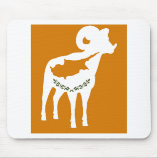 CYPRUS NATIONAL RAM MOUSE MAT