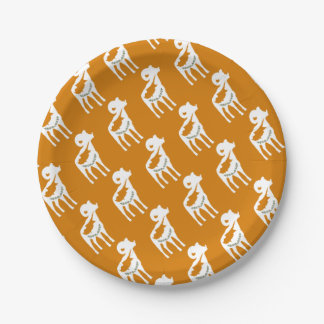 CYPRUS NATIONAL RAM PAPER PLATE