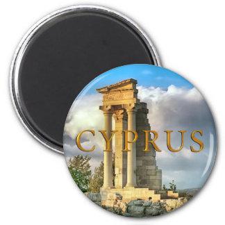 Cyprus ruins magnet