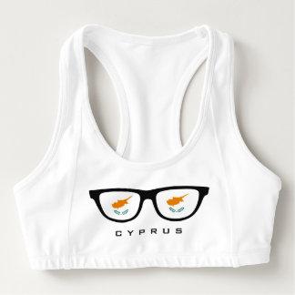 Cyprus Shades custom sports bra
