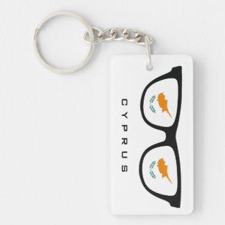 Cyprus Shades custom text & color key chain