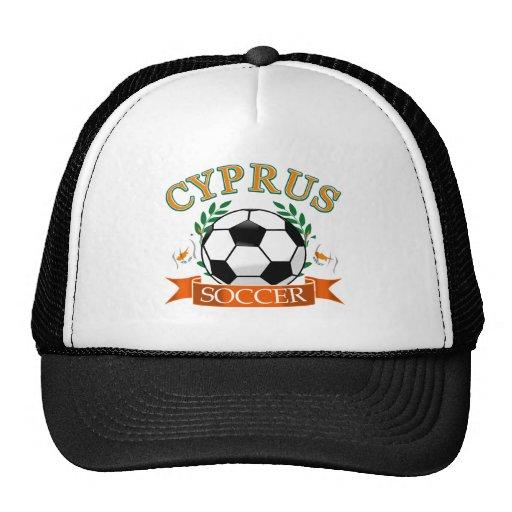 Cyprus soccer ball designs mesh hat