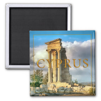 Cyprus Square Magnet