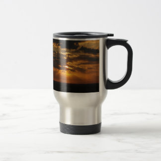 Cyprus Sunset Travel Mug