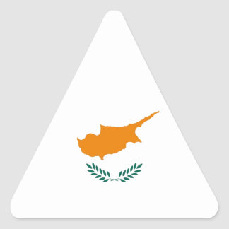 CYPRUS TRIANGLE STICKER