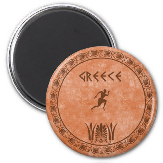 cyrcle greek design magnet