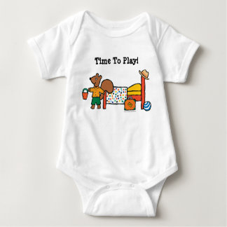 Cyril the Squirrel on Vacation Baby Bodysuit