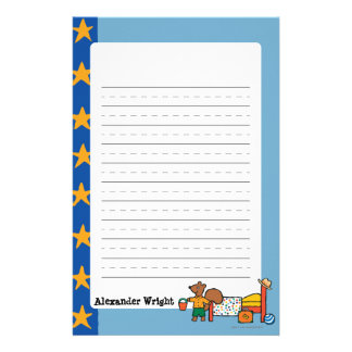 Cyril the Squirrel on Vacation Stationery