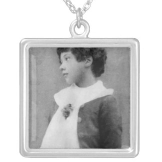 Cyril Wilde, c.1890 Silver Plated Necklace