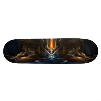 Cyritous, The Temple Of The Orb Of Karinos Custom Skate Board