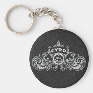 Cyro Mild Cigars Vintage Label Keychains