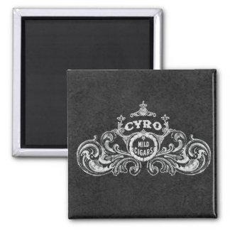 Cyro Mild Cigars Vintage Label Fridge Magnets