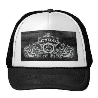 Cyro Mild Cigars Vintage Smoking Label Cap