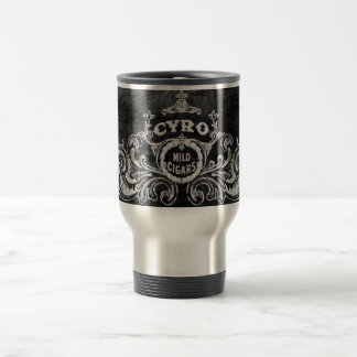 Cyro Mild Cigars Vintage Tobacco Label Stainless Steel Travel Mug