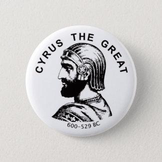 Cyrus the Great kourosh bozorg round button