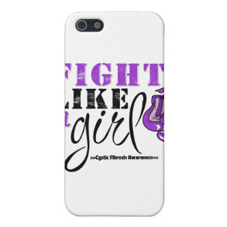 Cystic Fibrosis Awareness Fight Like a Girl iPhone 5 Cases