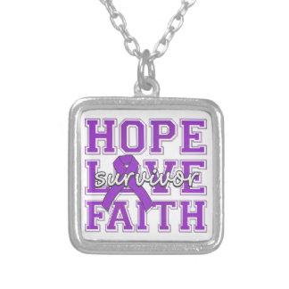 Cystic Fibrosis Hope Love Faith Survivor Necklaces