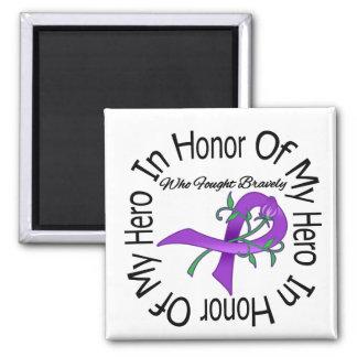 Cystic Fibrosis In Honor Of My Hero Fridge Magnet