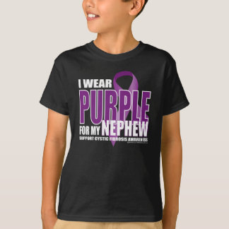 Cystic Fibrosis: Purple for Nephew T-Shirt