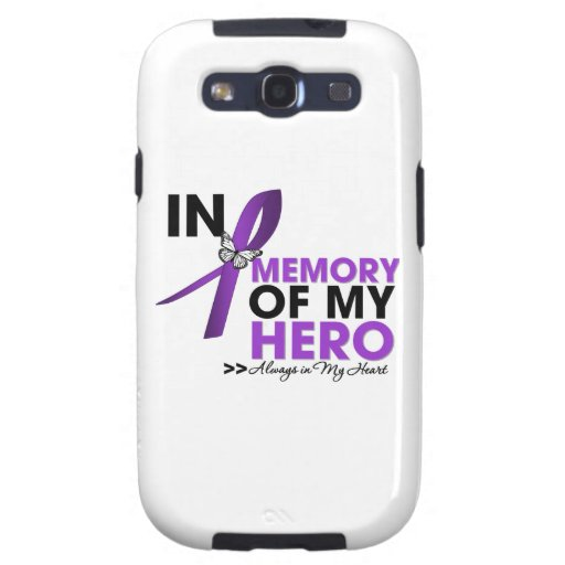 Cystic Fibrosis Tribute In Memory of My Hero Galaxy S3 Cases